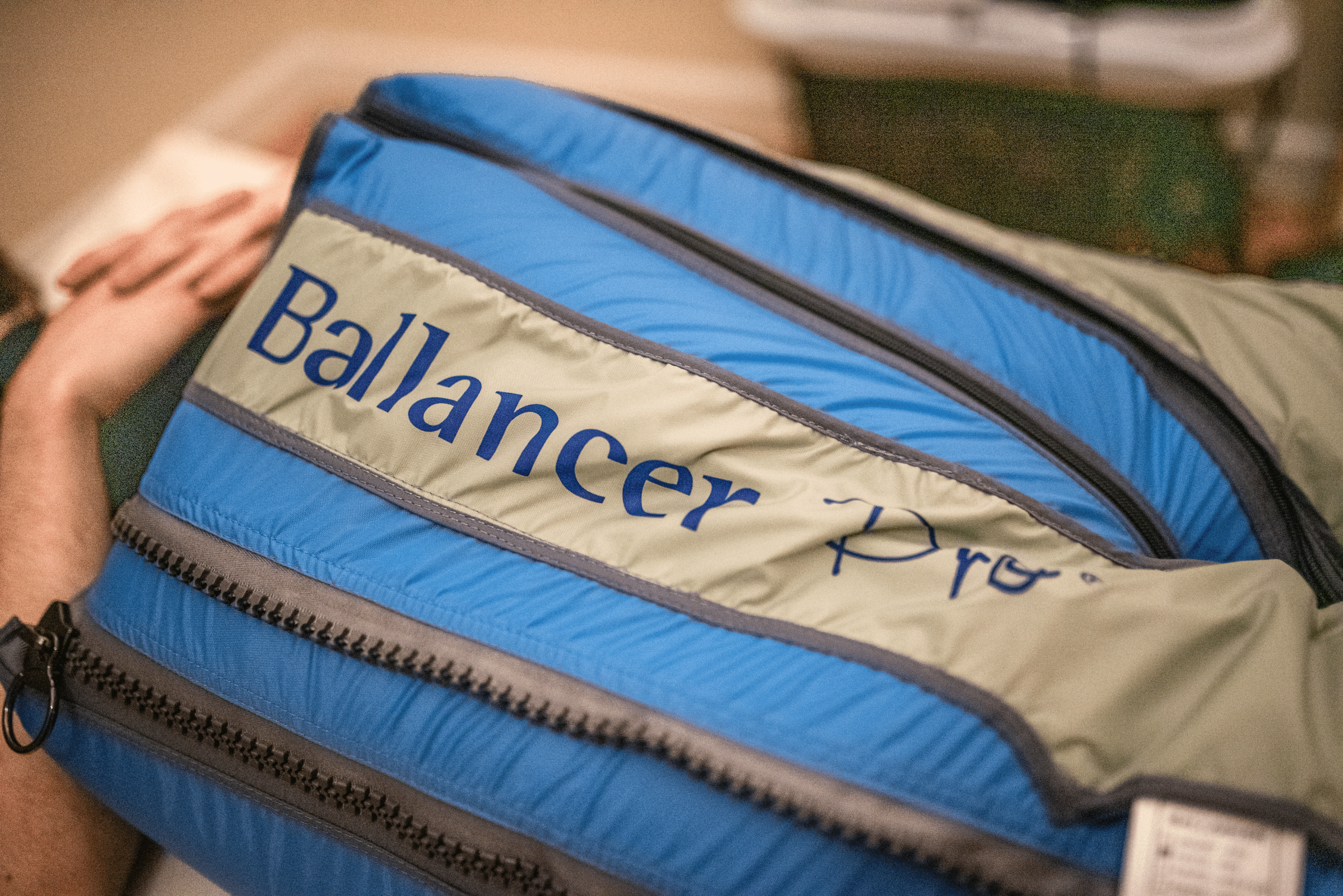 close up on Ballancer Pro for lymphatic drainage
